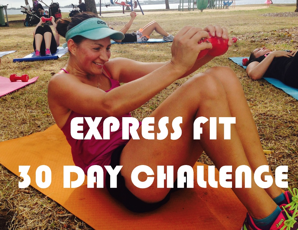 EXPRESS FIT 30 DAY CHALLENGE
